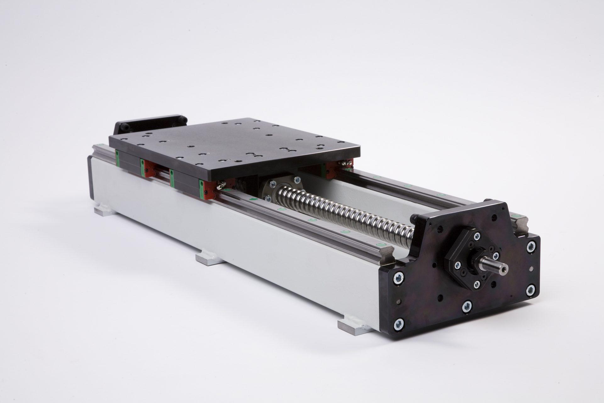 lineaire module met kogelomloopspindel