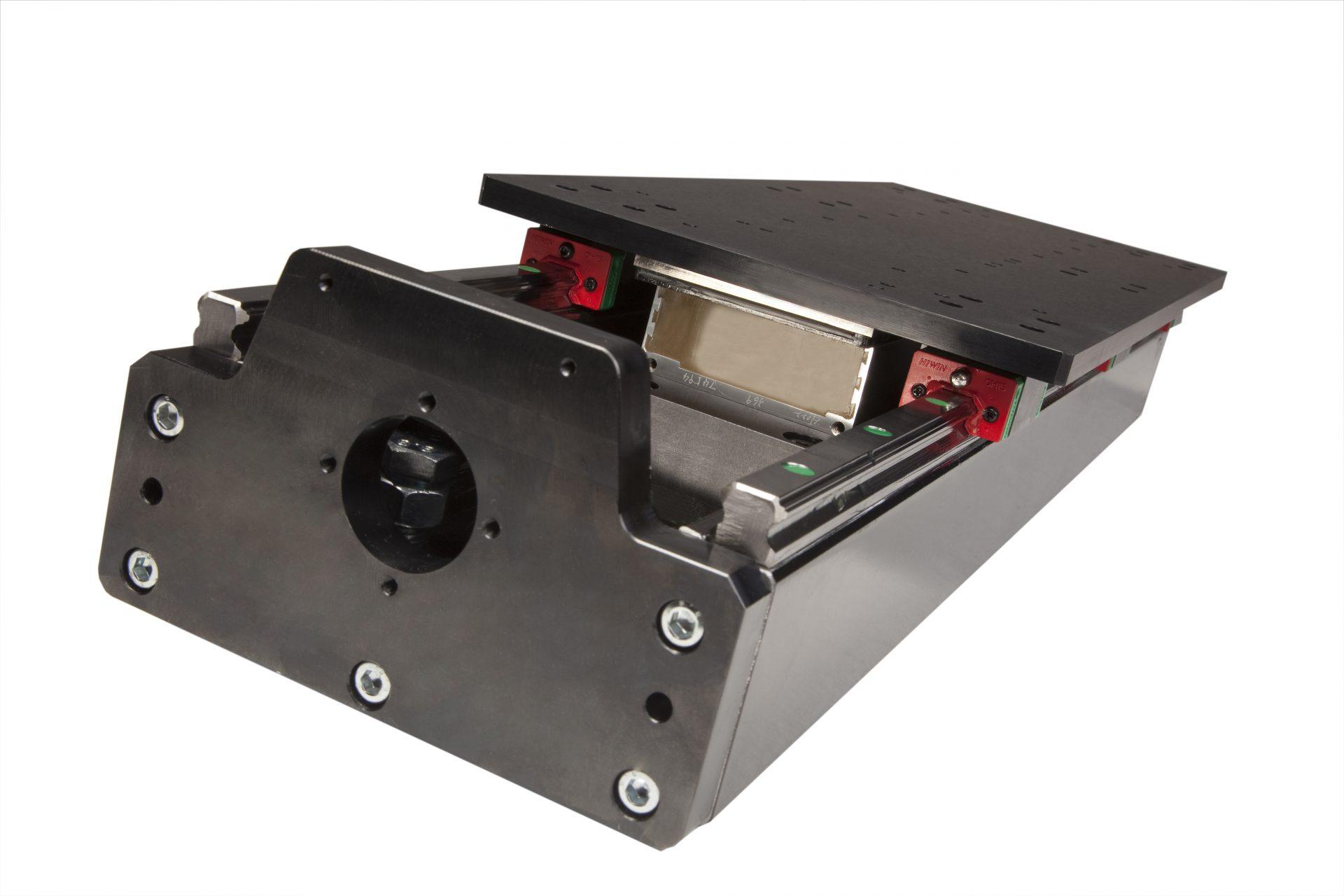 linear module with linear motor