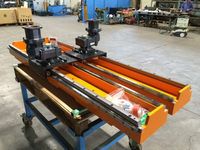 linear modules with rack and pinion
