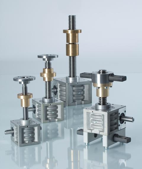 rotating screw jacks