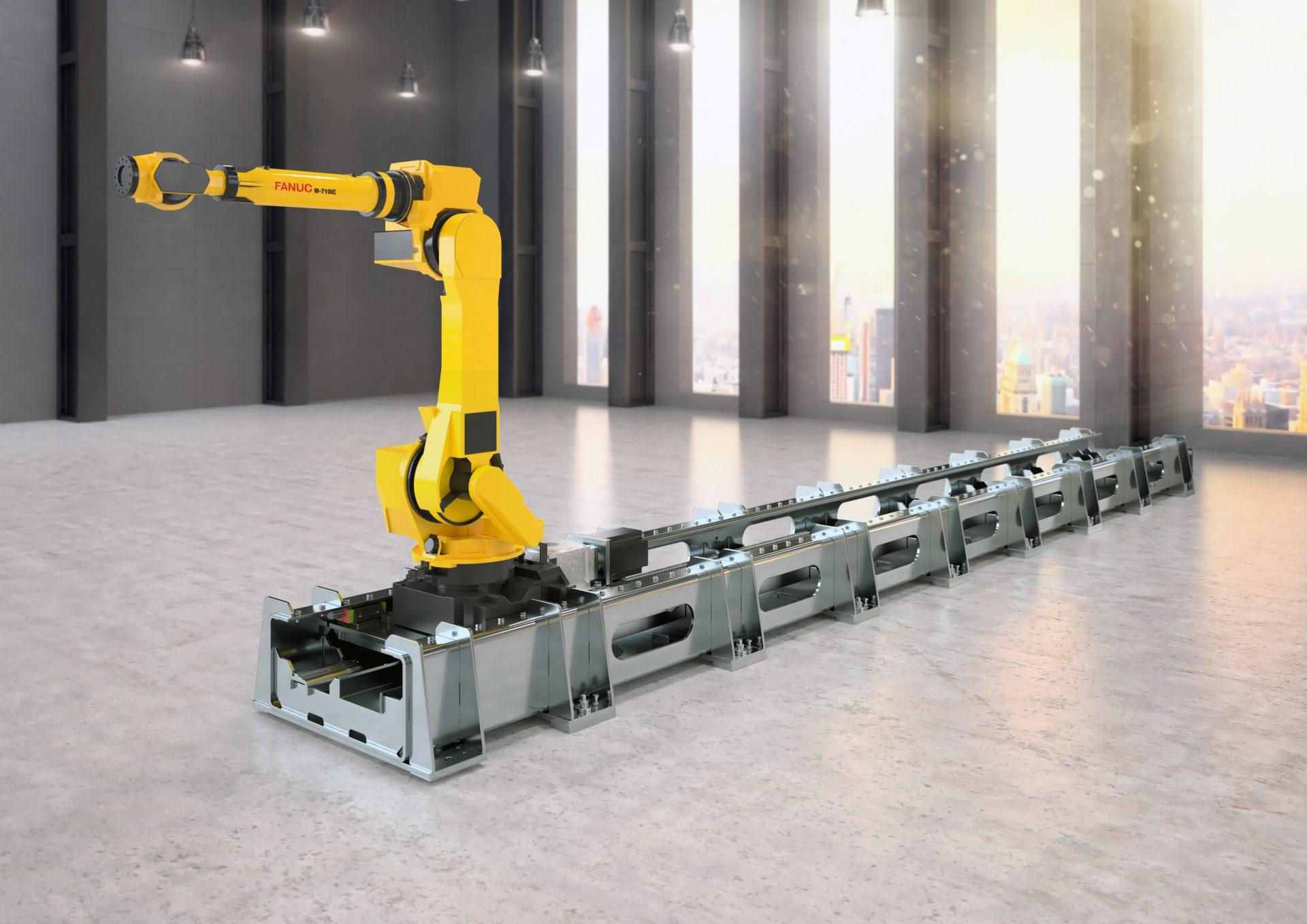 stainless steel robottrack