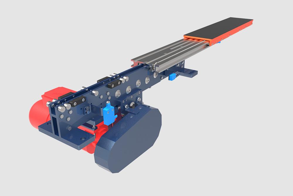 LHD Teleskopgabeln - Linearsystems