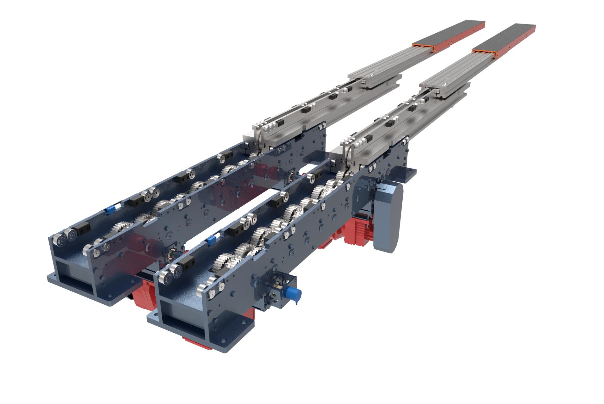 LHD telescopic forks - zeus