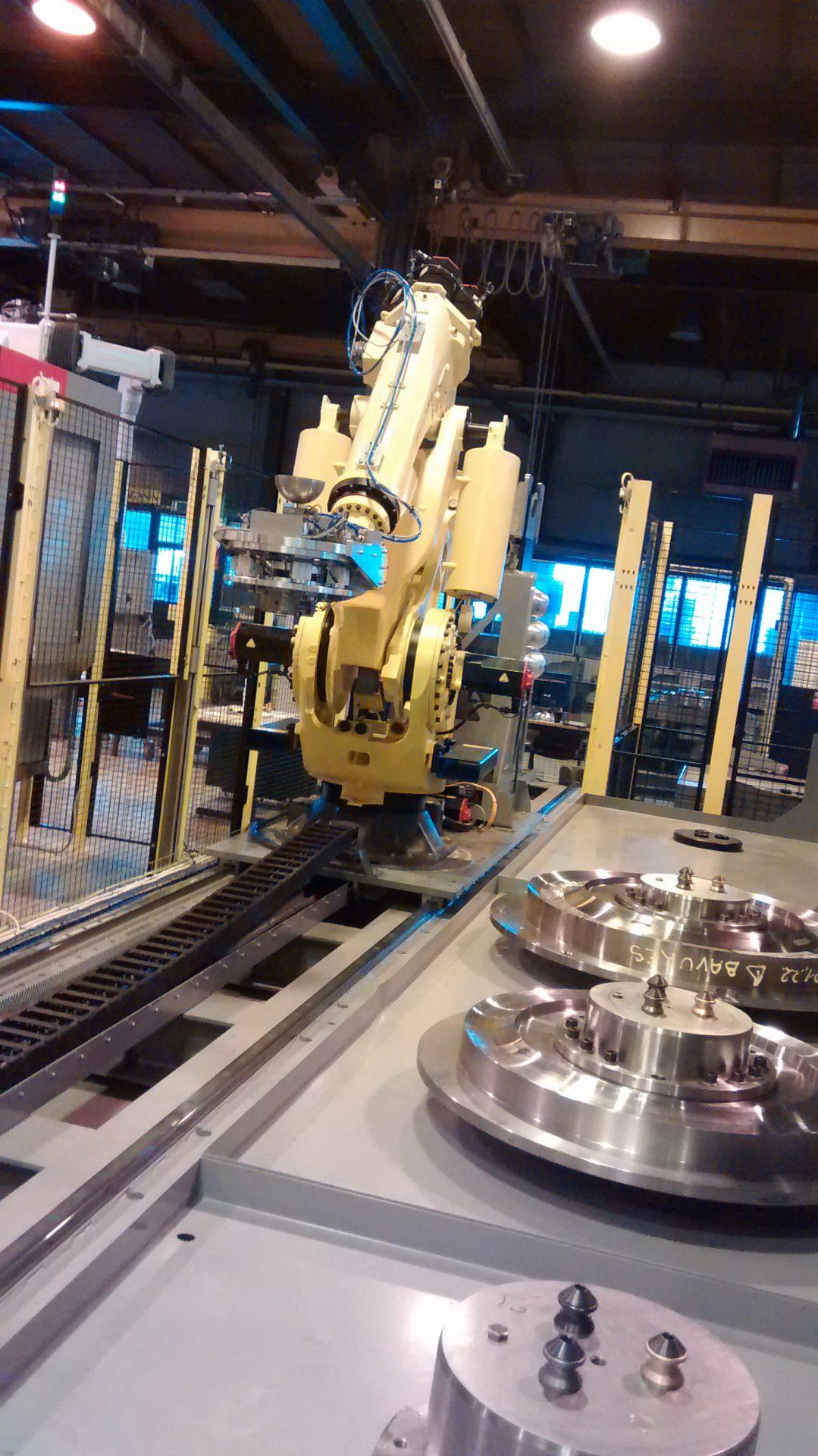 Verfahrachsen fur Roboter