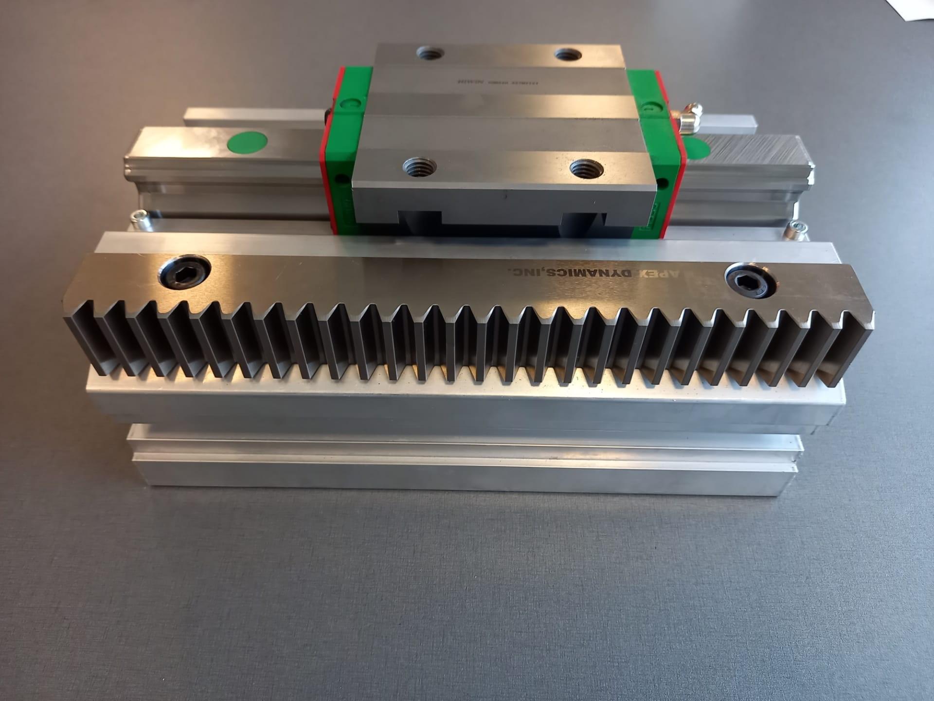 Aluminium-Systemprofil von Vansichen